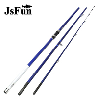 High Quality 4.2m Surfing Rod 3 Section Carbon Fiber Telescopic Fishing Rod Super Light Sea Fishing Spinning Rod FG170
