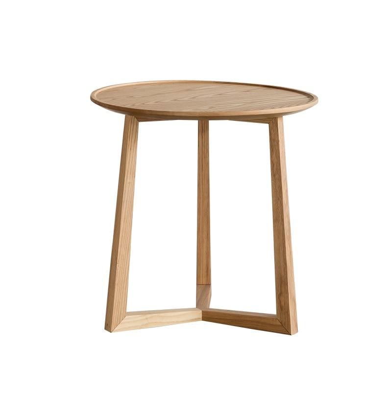 Table basse en bois massif de 52 cm (20