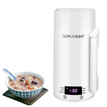 Electric Kettles mini water bottle Portable travel thermos mug milk boiling cup smart teapot Stainless stee thermostat hot water цена и фото