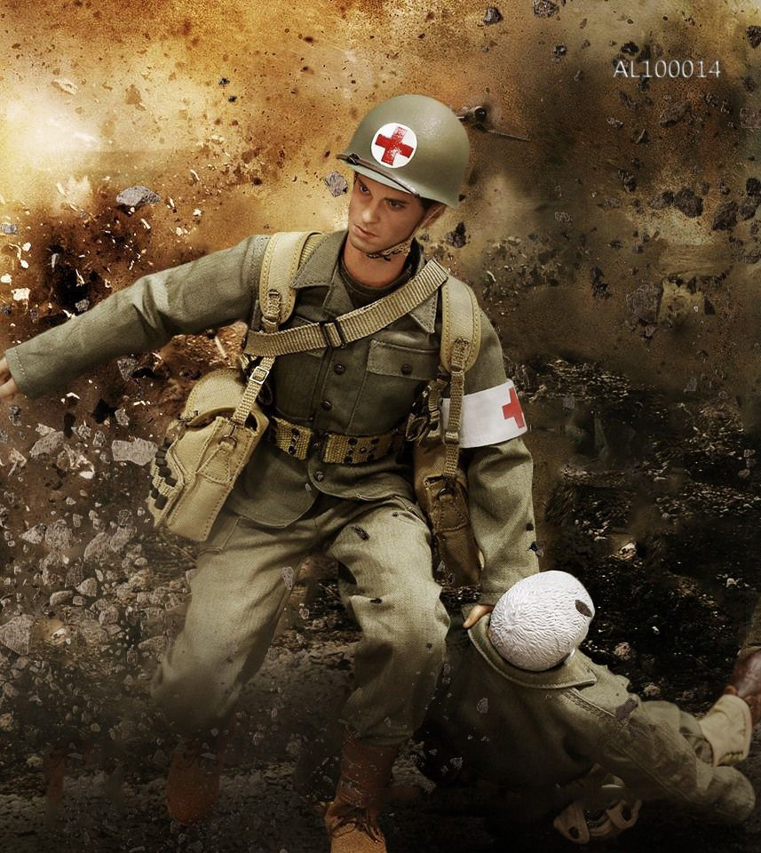 1/6 Scale WWII U.S.Army Military Surgeon Suit Soldier Clothing with Head For 12 Inches Action Figures 1 6 scale russian vdv scout soldier limited clothing weapon models equipment set for 12 inches action figures
