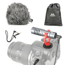 Mouriv VMC100GY Universal Video Record Microphone Youtube Blogging Recording Mic for Canon Nikon Sony iPhone HuaWei Smartphone barb drozdowich blogging for authors