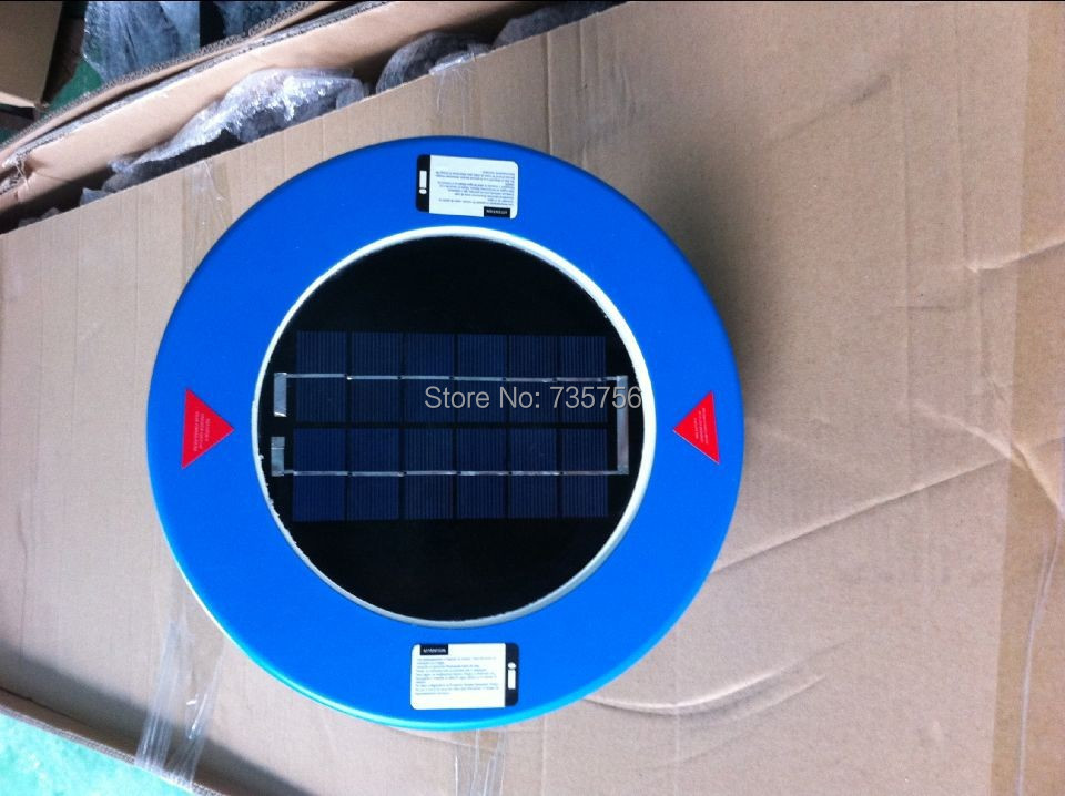 Solar Piscina Ionizador Purificador Portátil Elimina As Algas e Bactérias até 32,000 gal Salvar $$$