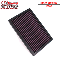 CK CATTLE KING High Quality Motorcycle Air Filter For KAWASAKI NINJA 250 250R 300 ABS Z300