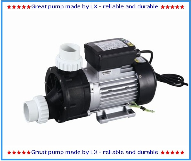 Permalink to LX JA50 spa bathtub whirlpool pump with 0.5HP 220V 50HZ or 60HZ as circulation pump for AMC Winer Spa, Chinese Spas, Spa Serve.