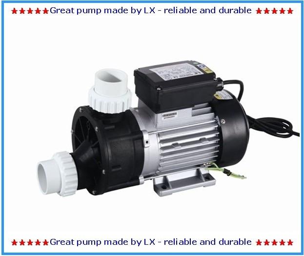 LX JA50 spa bathtub whirlpool pump with 0.5HP 220V 50HZ or 60HZ as circulation pump for AMC Winer Spa, Chinese Spas, Spa Serve.