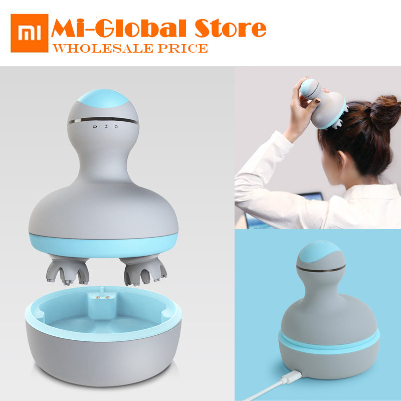 xiaomi mini head massager 3D stereo massage two way surround Two speed adjustable IPX7 waterproof Type c portable charging