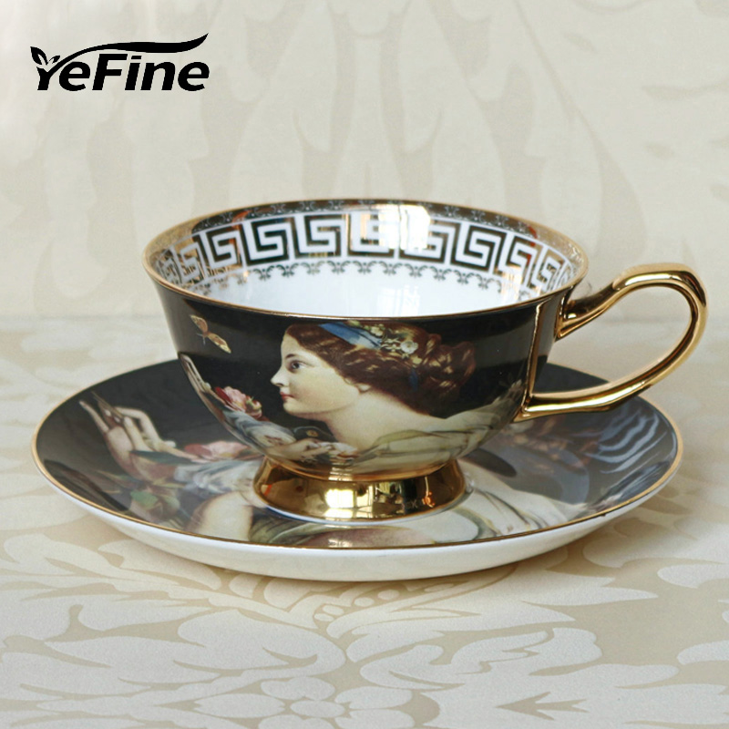 Yefine ceramics tea set advanced kitchen accessories royal for Kitchen set royal surabaya