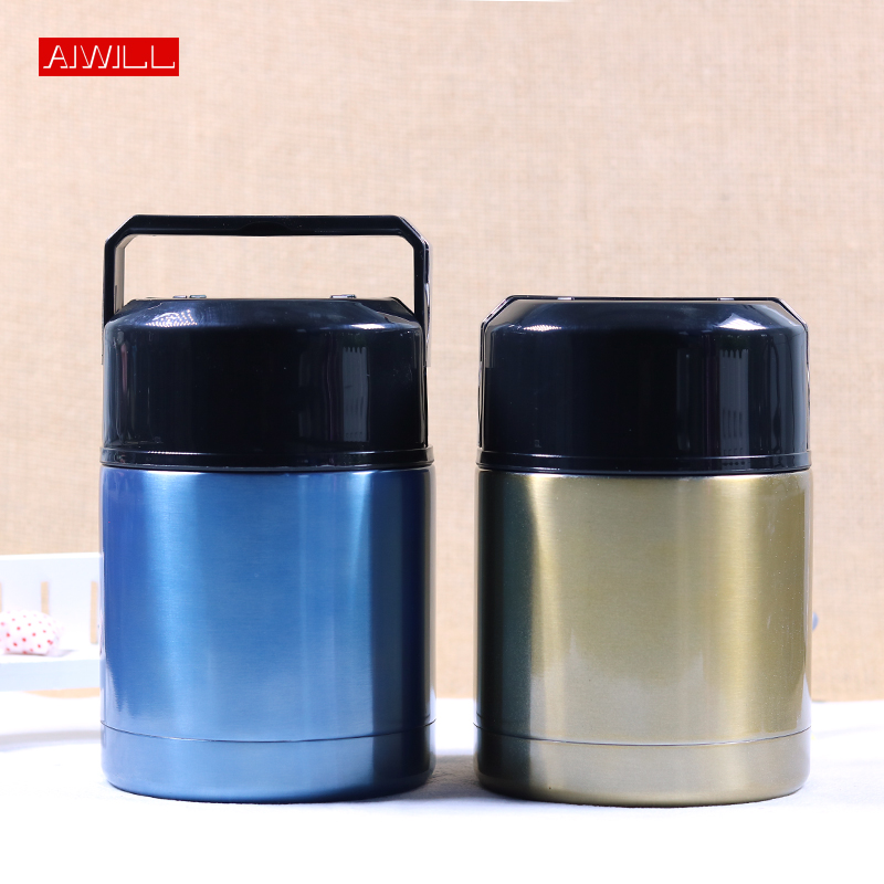 AIWILL High Quality Food Thermos Thermal Lunch Box Food Container Vacuum Flask Soup thermo bottle 304 Stainless Steel thermoses Термос