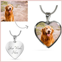 SG 925 sterling silver personalized Round necklace custom Carving name & pets picture jewelry for mom&women gifts