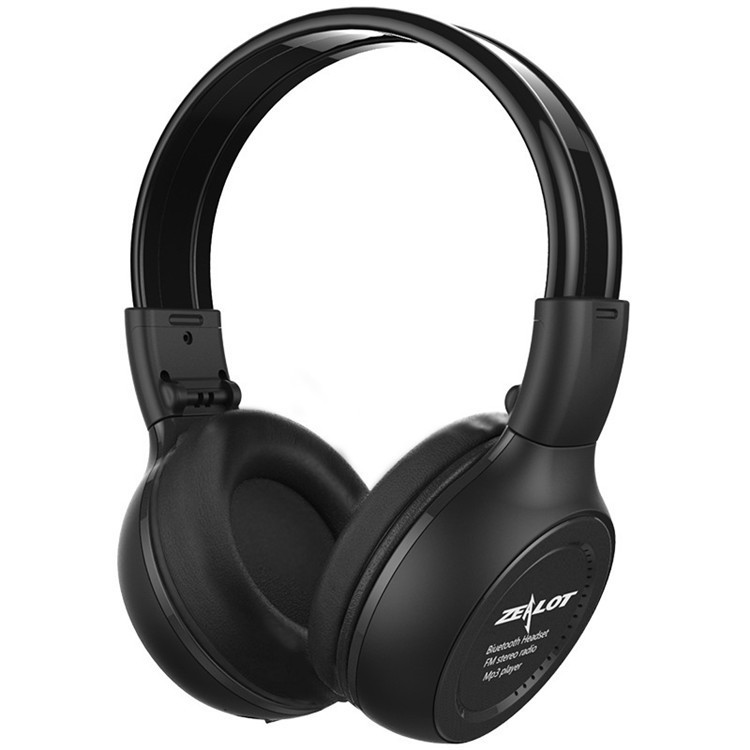 Headphones Zealot B570 Wireless Stereo HiFi Over-Ear Foldable Headset With Microphone Support TF Card Play  FM Radio  (20)