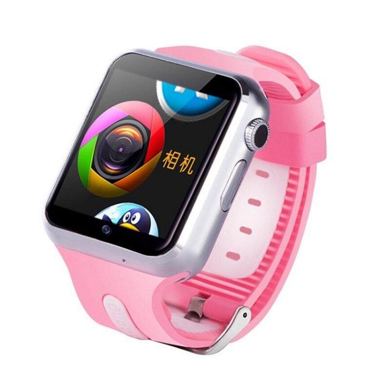 Imperméable à l'eau 3G Wifi montre intelligente GPS sûr Sport Fitness Tracker téléchargeable APP multi-langue en option enfants montre intelligente - 3