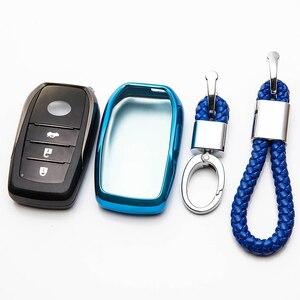 Image 4 - TPU Remote Car Key Case Cover For Toyota Chr C hr Land Cruiser 200 Avensis Auris Corolla Key Chain Case Accessories
