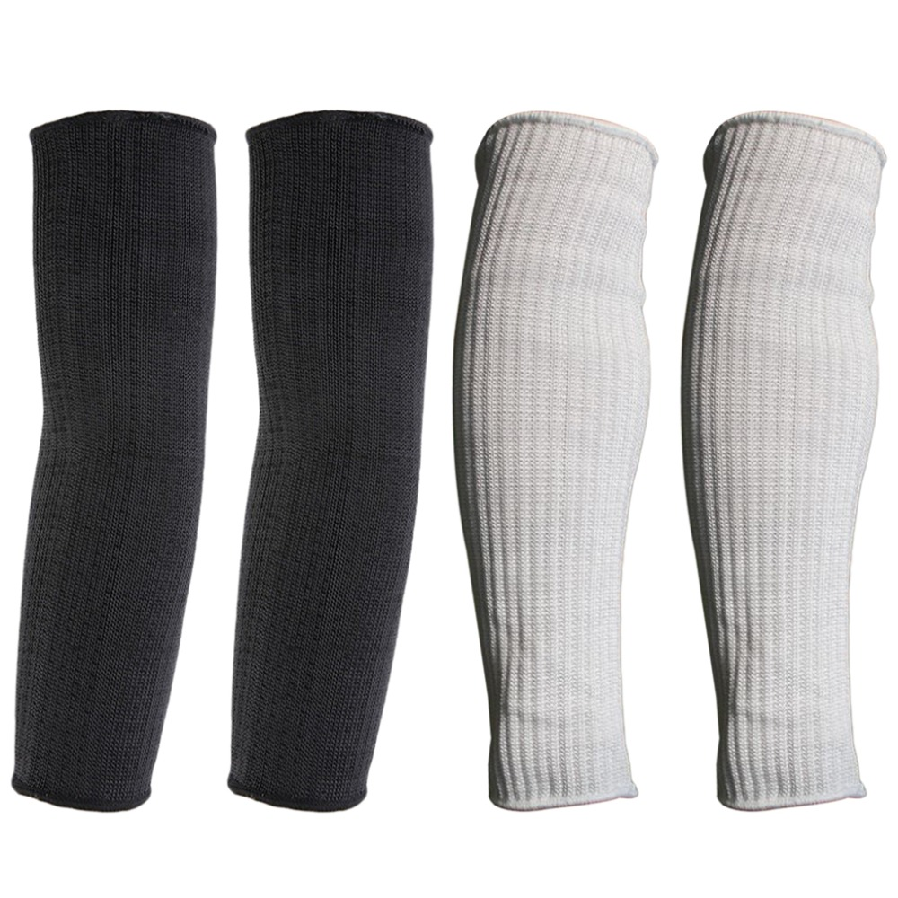 Anti-cut Stab Resistant Cutting Work Labor Protection Cut Safety Arm Sleeve Be Friendly In Use Men's Arm Warmers