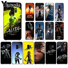 Yinuoda Alita Battle Angel Printing Drawing Phone Case cover Shell For Samsung Galaxy s9 s8 plus note 8 note9 s7 Mobile Cases