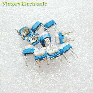 New 50PCS/Lot Trimmer Potentiometer RM065 RM-065 10Kohm 103 10K Trimmer Resistors Variable adjustable Resistors Wholesale