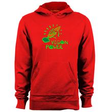 Vegan Power Hooded Sweatshirt