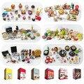 1:12 Dollhouse Miniatura de Plástico De Alimentos ORCARA Japonesa Cocina Accesorios Fit Tamaño Rement Regalo de Colección de juguetes 7 Estilos