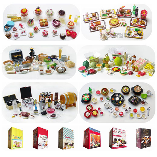 Speelgoed Keuken Accessoires Plastic : Japanese Food Miniatures