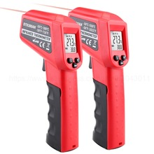 Infrared Thermometer -50-380/550 Degree Non-Contact Digital Laser Temperature Gun Fahrenheit/Celsius LCD Display