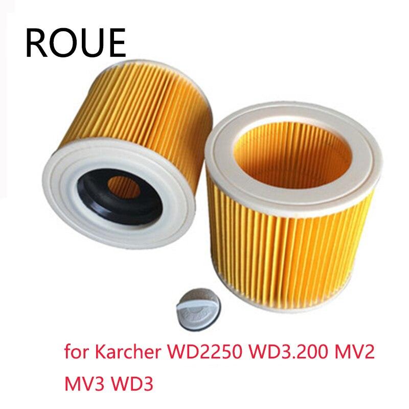 Washable Filter For KARCHER DS5500,DS6000,DS5600,DS5800 Robot Vacuum Cleaner Parts Karcher 6.414-631.0 Hepa Filters