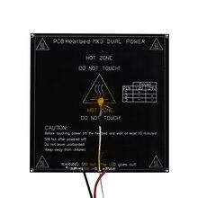 RepRap 3D Принтер Части PCB ALU-Heatbed MK3 + LED + Термисторы Резистор + Кабель + 100 К ом Диаметр как MK2B