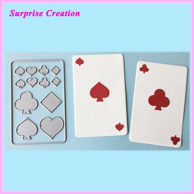 Сюрприз создание режущий умирает игральных карт HDD17003-резка металла умирает для Cardmaking & скрапбукинга и многое другое