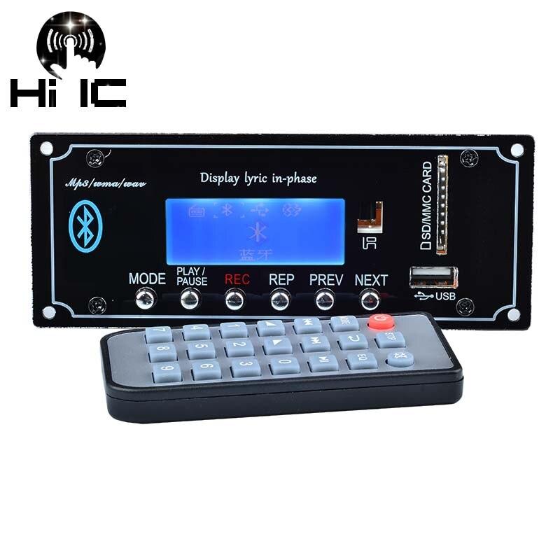 Gutherzig Drahtlose Bluetooth Audio Empfänger Mp3 Wav Wma Decoder Board Dac Audio Modul Usb Tf Radio Für Verstärker Audio Upgrade Mp3-player Tragbares Audio & Video