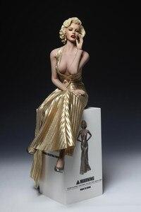 Весы знаменитые звезды Мэрилин Монро 1/6, цельный Набор фигурок, платье с обувью для 12