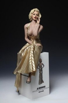 1/6 Scale Famous Star Marilyn Monroe Whole Set Figures Head Body Dress with Shoes for 12 Action bodies Toys Gifts
