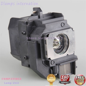 Image 4 - For ELPLP58 EB X92 EB S10 EX3200 EX5200 EX7200 EB S9 EB S92 EB W10 / EB W9 / EB X10  EB X9 for EPSON projector lamp with housing