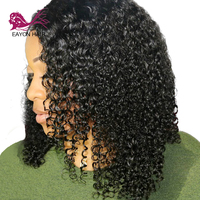 EAYON HAIR Brazilian Kinky Curly Wig Glueless Lace Front Human Hair Wigs For Women Remy Wigs With Baby Hair 130% Pre Plucked
