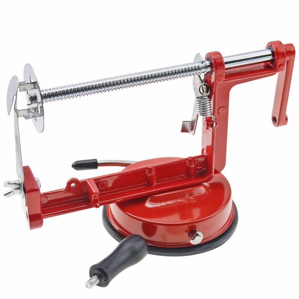 3 in 1 apple peeler fruit peeler slicing machine stainless steel apple fruit machine peeled tool