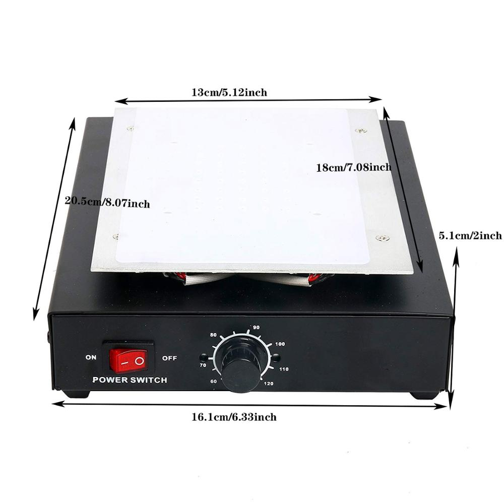 Vacuum Laminating Machine With LED Display And Auto Heating Metal Plate 4