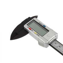 Cheapest prices 6 Inch 150MM Carbon Fiber Composite LCD Digital Vernier Caliper Electronic Rule Micrometer Gauge Measuring Instrument Tool Sale