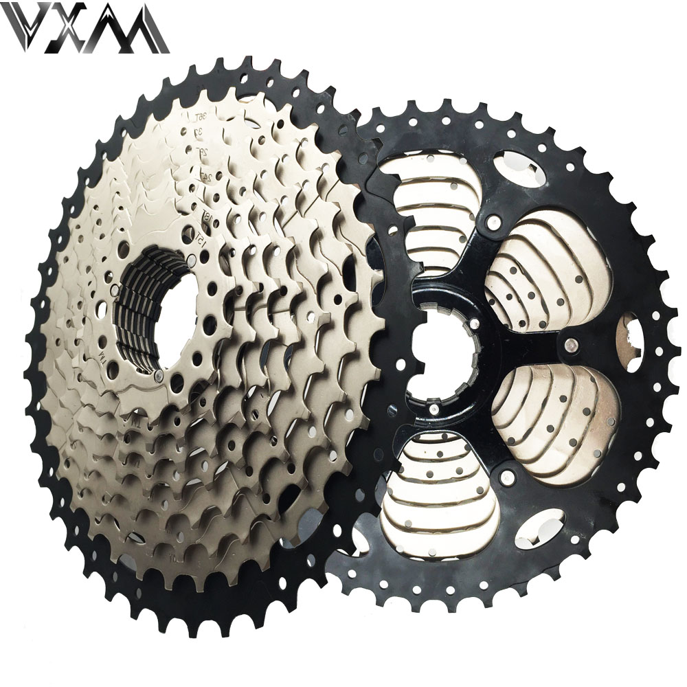 VXM Bicycle flywheel 11-42t 10 Speed 10s Wide Ratio Mountain bike freewheel Cassette bicycle flywheel Bicycle Parts new arrival sunrace csms3 csmx3 11 40t 11 42t 10 speed 10s wide ratio mtb mountain bike freewheel cassette bicycle flywheel