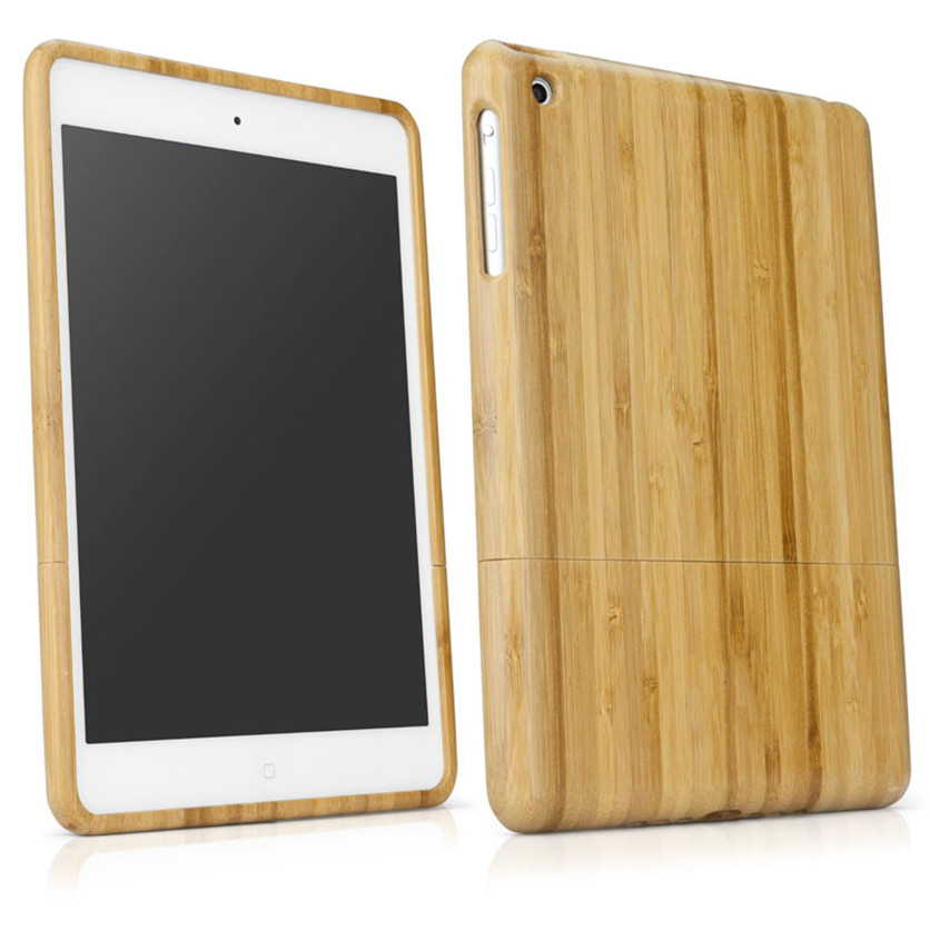 Drop shippingSimpleStone Genuine Natural Bamboo Wood Case Cover Skin for iPad 1 2 3 mini Retina New June01 mosunx