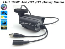 CCTV HD-AHD/TVI/CVI/CVBS 2.0MP  HD 1080P Lens 3.6mm IR-CUT OSD Menu Waterproof Security 2.0MP 4 in1 Camera