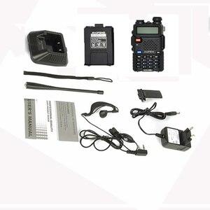 Image 5 - ハントポータブルトランシーバーセットuv 5R baofeng Uv5rトランシーバのスキャナcbラジオコミュニケーbaofeng UV 5Rアマチュア無線局