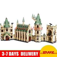 DHL In Stock Lepin 16030 Movie Series The Harry Potter Hogwarts Castle Educational Building Blocks Bricks