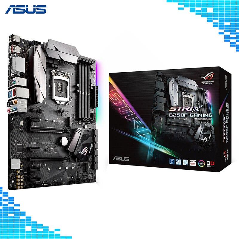 Asus ROG STRIX B250F GAMING Bureau Carte Mère Intel B250 Chipset Socket LGA 1151 Carte Mère ATX