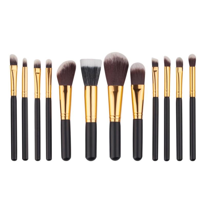 12pcs/set Professional Eye Brushes Set Eyeshadow Foundation Mascara Blending Pencil Brush Makeup Brushes Tools 12pcs eye makeup brushes set eyeshadow