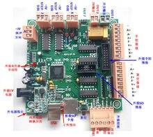 MK2 4 Axes USB Conseil D'interface Du Contrôleur CNC CNCUSB Suppléant MACH3 POUR stepper servo moteur 3d Imprimante