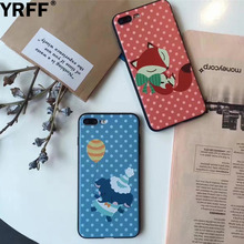 YRFF New 3D cartoon Elephant Fox phone case cover for iphone 6 6s case cover for iphone 6s 6 7 plus back cover