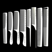 IONIC STYLER   Professional hair clippers , trimmers, combs Comb hair   White Color Carbon Tail Comb For Hairdresse