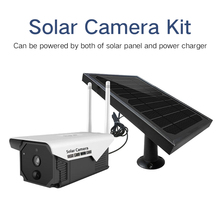 SmartYIBA Outdoor Solar WIFI Camera Solar Panel Powered PIR Motion Detection support SD card & Free Cloud Storage HD IP Camera smartyiba gsm