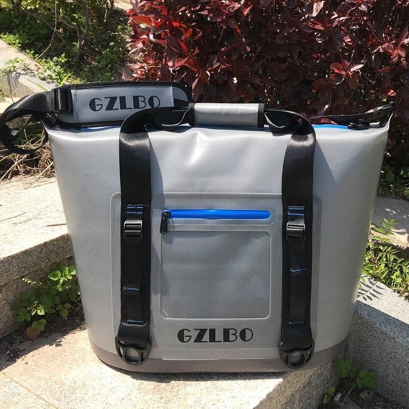 Latas e Latas de 30 20 Soft Lados Portátil Cooler para Piquenique Ao Ar Livre À Prova D' Água, Estrada Passeio à Praia, Esportes, pesca e Camping Cooler