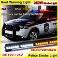 252 Вт 41 inch Супер Яркий Крыше Автомобиля Светодиодные Стробоскопы Бар полиция Чрезвычайных Предупреждение Пожарный Flash 12 В Red Blue Led Полиции огни