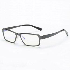 Image 1 - 202 Optical Eyeglasses Frame for Men Eyewear Prescription Glasses Full Rim Man Spectacles Alloy Frame Eyeglasses