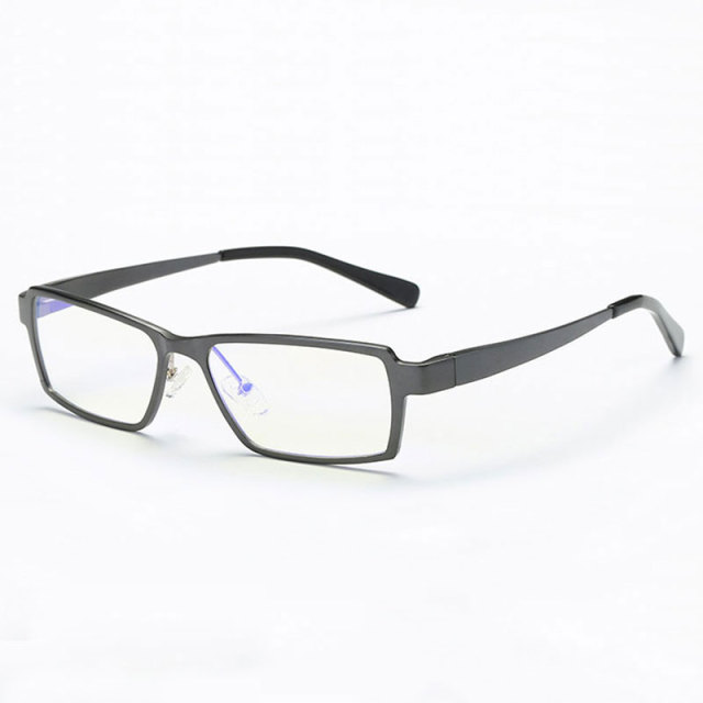 202 Optical Eyeglasses Frame for Men Eyewear Prescription Glasses Full Rim Man Spectacles Alloy Frame Eyeglasses