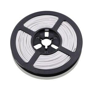 Image 2 - 50 m 164 ft 24awg flexível fio de silicone estanhado fio de cobre e cabo encalhado fio 10 cor opcional diy conexão de fio